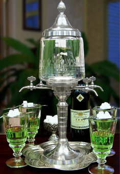Metal Absinthe Fountain